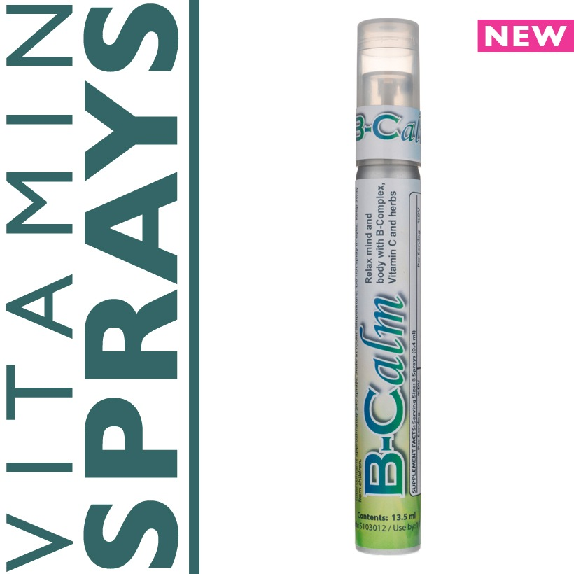 bcalm vitamin spray